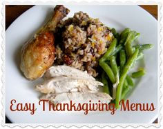 Thanksgiving Menus or alternative choices to the Traditional Holiday season meals. Thinking of the Budget or entertaining the new guests. The sophisticated to the vegan Holiday meal is here. . .