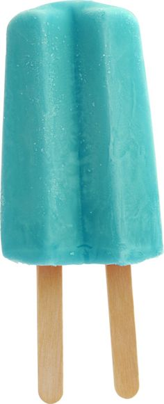 Now this HAS to go on my Nostalgia board - turquoise popsicle - blue raspberry flavor - my favorite growing up - and now!