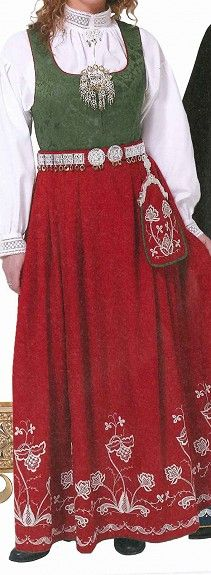 Follobunad Folk Costume, Costumes, Norwegian Clothing, Hardanger Embroidery, Royal Jewels, Water Lilies, Oslo, Norway, Scandinavian