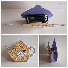 Gute Besserung - Teekanne          Die Idee und eine Vorlage gibt es bei bettys-creations
