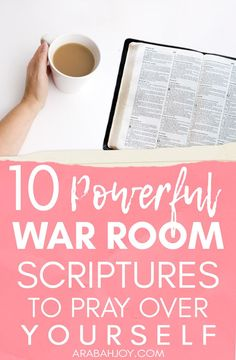 10 Powerful War Room Scriptures to Pray Over Yourself