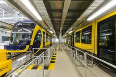 Trams in Depot September   Flickr - Photo Sharing!