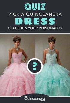 The next 10 questions will help you narrow down the style and perhaps even color of your gorgeousQuinceanera dress,so let's begin!
