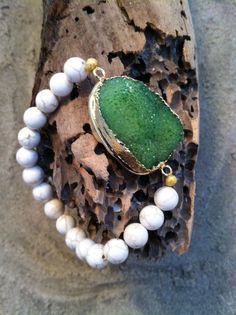 Hey, I found this really awesome Etsy listing at https://www.etsy.com/listing/217076037/gold-plated-green-druzy-magnesite