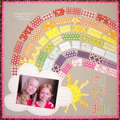 My Pot of Gold #scrapbooking #inspiration