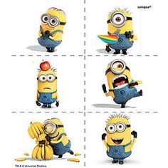 Show off with these Despicable Me 2 Tattoos that feature a variety of entertaining Minions on them. You will receive 4 sheets of 6 tattoos.