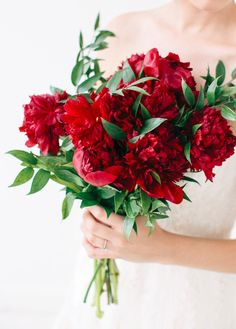 Angel, how do you like these? they're red peonies