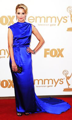 Dianna Agron in Roksanda Illicncic #emmys2011