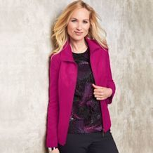 Tan Jay® Faux-Suede Jacket from Sears Catalogue  $59.97 Suede Jacket, Jay, Catalog, Wonderland, Blazer, Fashion Outfits, Jackets, Clothes, Suede Moto Jacket