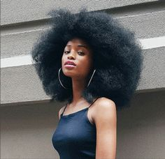 Afro hairstyles express the spirit and natural beauty of African American hair Pelo Natural, Natural Hair Tips, Natural Hair Styles, Natural Beauty, Coily Hair, 4c Hair, My Hairstyle, Afro Hairstyles, Curly Haircuts