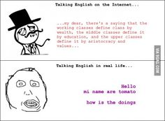 Since English is not my native language, this is pretty accurate...
