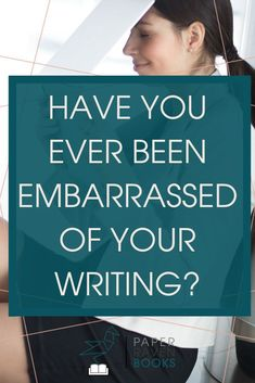 "Have you ever looked back on your writing from or 20 years ago and thought, ""Who was that person writing? Good Lord, how awful."" In that moment, you can so easily become trapped between wishing you could go back to fix mistakes"