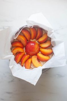 This Peach Rye Cake is simple to make and will brighten up your day. It is perfect for breakfast or served with ice cream for dessert. Recipes Using Fruit, Cake Recipes, Pancakes For One, Baking Company, Desserts To Make, Eat Dessert First, Let Them Eat Cake, Coffee Cake, Recipe Using