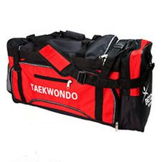 Dynamics TaeKwonDo Hogu Gear Bag Gear Bag - Perfect sport bag for everyday gym bag. - Features a padded detachable and adjustable shoulder strap, two handles, an exterior zipped pocket for small items