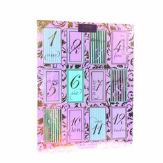 tarte Cosmetics Petite Treats Gift Set 12 Day Advent Calendar 2014 New box dent #tarte #advent