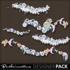 5 digital scrapbooking elements completely UNIQUE ! This product is PU and S4H..OK #Benthaicreations @MyMemories.com! #Digital #Scrapbook #Creative #Craft #Web-thumbbenthai