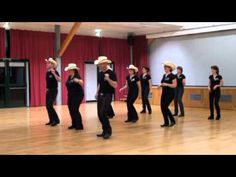 ALL SHOOK UP . Line Dance - YouTube
