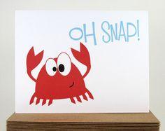 crab birthday card - Google Search