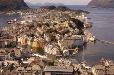 Hermosas imagenes de Ålesund Noruega