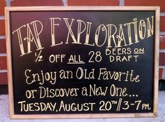 Beer Event August 20, 2013