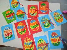 Πάμε Νηπιαγωγείο!!!: Πασχαλινές κάρτες και καλαθάκια.