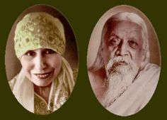 The Mother and Sri Aurobindo  http://breathedreamgo.com/wp-content/uploads/2009/12/ashram2.jpg