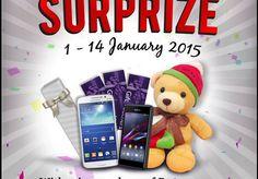 New Year Surprize Bersama Plaza Semanggi, Periode 1 - 14 Januari 2015 | Tempatnya Promosi dan Diskon