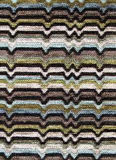 """Zaney Moonstone.  Valdese Weavers - Circa 1801 Fabric. Heavy chenille jacquard for drapery or upholstery. 24 oz, H 4.5"""", V 5.25"""" repeat. 78% rayon, 22% poly. 54"""" wide."""
