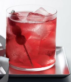Grey Goose Vodka Berry Lemonade - yum!!