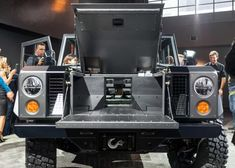 New York-based Bollinger Motors just unveiled the – the world's first all-electric, all-wheel drive sport utility truck. Electric Pickup Truck, Electric Vehicle, Electric Cars, Fuel Cell Cars, Car Fuel, Suv Trucks, Pickup Trucks, Electric Car Conversion, Utility Truck