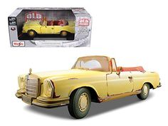 1967 Mercedes 280 SE Rusted Version 'Old Friends' 1/18 Model Car by Maisto *** You can get additional details at the image link. (This is an affiliate link) #GiftBaskets