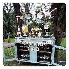 Detalle muy dulce y romántico, ideal para una hermosa boda en jardín.