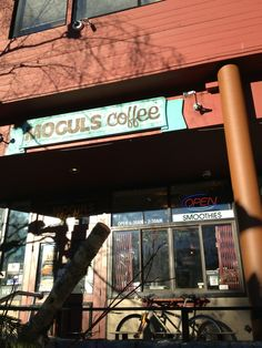 Moguls Coffee House in Whistler, BC