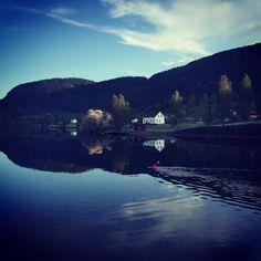 Morning by the Bandak Kanal #telemark #visittelemark #nrktelemark #norway #landscape #morning by masaienpaaski