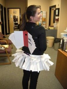 Happy Hallow-READ - librarian as the book fairy! Visiting classes.