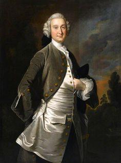 William Anne van Keppel (1702–1754), 2nd Earl of Albemarle by Thomas Hudson, c. 1745. Royal Albert Memorial Museum