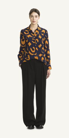 Strix shirt by Marimekko Marimekko, Nordic Style, Clothes For Sale, Winter Collection, Fashion Prints, Textile Design, Blouse, Fashion Bags, Pajama Pants