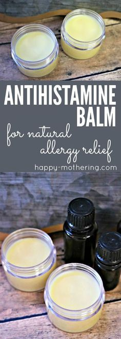 Natural Remedies For Allergies Are you looking for natural allergy relief remedies or products that works? Learn how to make our DIY antihistamine balm. It combines essential oils with natural ingredients for quick and reliable allergy relief. Natural Allergy Relief, Natural Allergy Remedies, Natural Congestion Remedies, Seasonal Allergy Remedies, Homeopathic Remedies For Allergies, Essential Oil Blends, Diy With Essential Oils, Essential Oils Allergies, Doterra Allergies