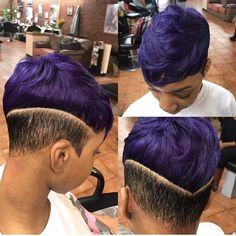 Healthy hair is one of the most important factors of beautifully straight hear. Short Hair Cuts, Short Hair Styles, Natural Hair Styles, Black Girls Hairstyles, Straight Hairstyles, Hair Dos, My Hair, Shaved Hair Designs, Dreads