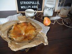 Birnen-Ricotta-Strudel mit Filoteig | Skön och kreativ Strudel, Ricotta, Camembert Cheese, Dairy, Dessert, Food, Pears, Food Food, Creative