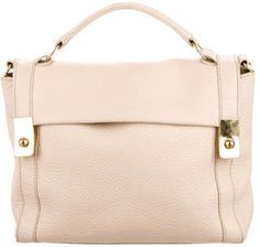 See by Chloé Pebbled Leather Satchel