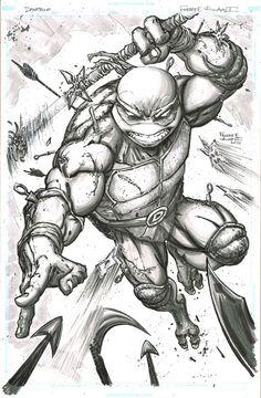 TMNT - Donatello by Freddie E. Williams II