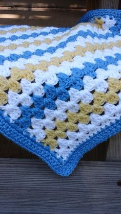 My newest listing. This is for the 4' x 6', but I can make it in your choice of size & color. Etsy listing https://www.etsy.com/listing/237955547/made-to-order-4-by-6-crochet-blanket