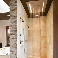 #rainbox #designforrealpeople #bathroomremodel #interiordesign #houzz #contemporarybathroom #shavingniche