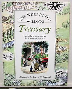 Book W DJ Wind IN THE Willows Treasury Kenneth Grahame K4715   eBay