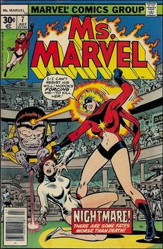 Ms. Marvel (1977) 7-A by Marvel.  MODOK!