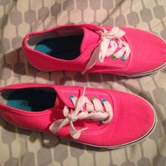 Joe Boxer shoes Cute bright pink shoes. Worn once Shoes Athletic Shoes