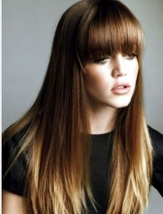 Dip dye hair - Love this hair colour and style.