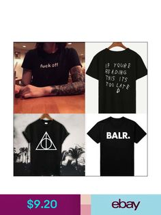 17064c1c2 Black White Cotton Short Sleeve T-Shirts Women Men Tee Tops Drake T-Shirts