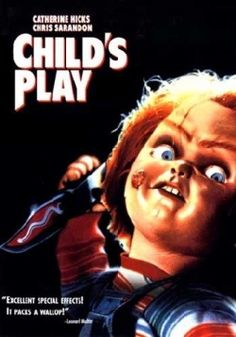 "Now watching on StarzEncore Suspense: Child's Play. This movie scared the shit out of me as a child. I had nightmares for a week and when I finally stopped, my cousin stayed over my house and left his My Buddy doll in my bed to ""keep me company."" I almost literally peed myself."